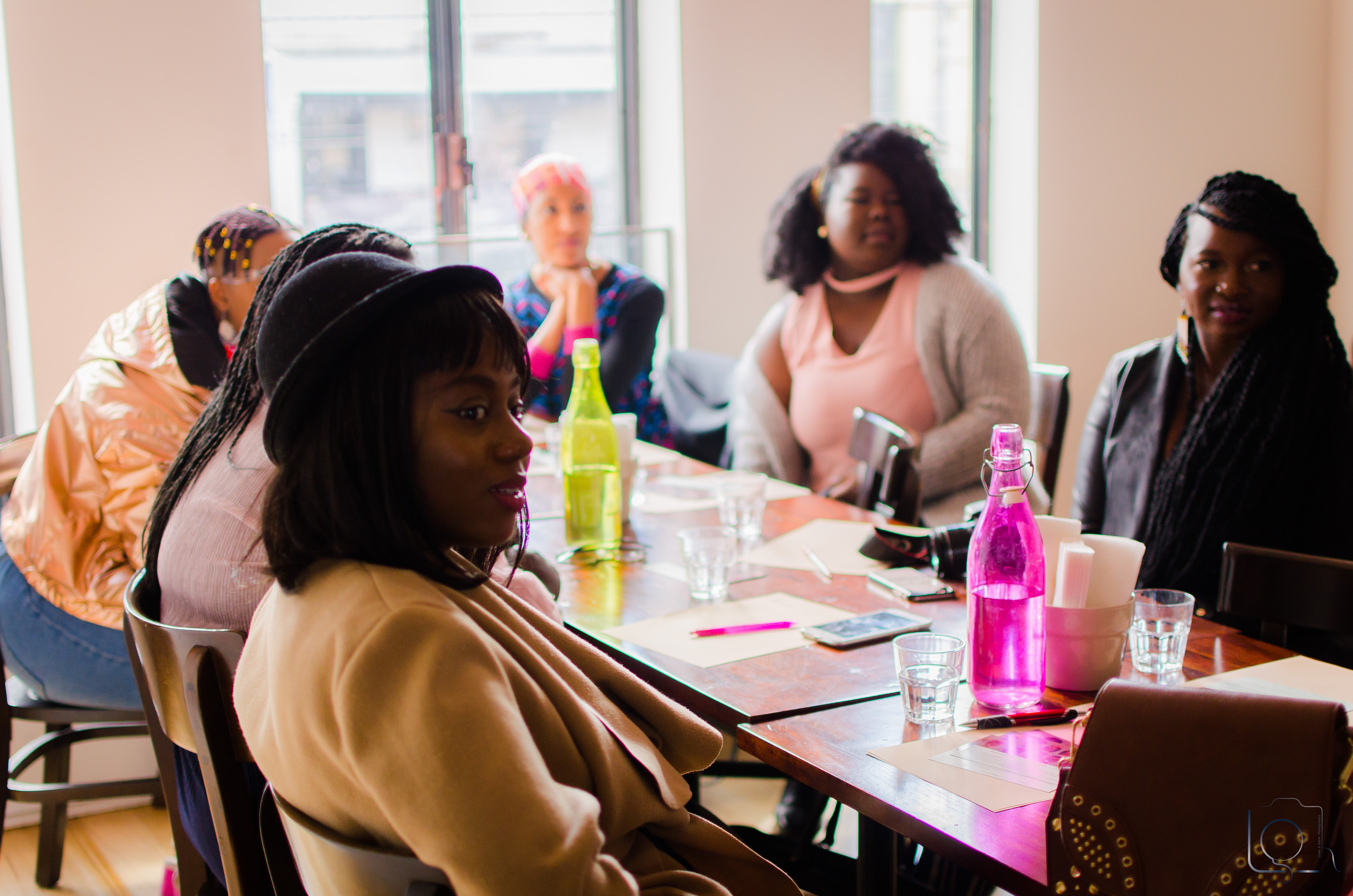 Melbourne Goals Headwraps event Afro African women Australian discussion self care