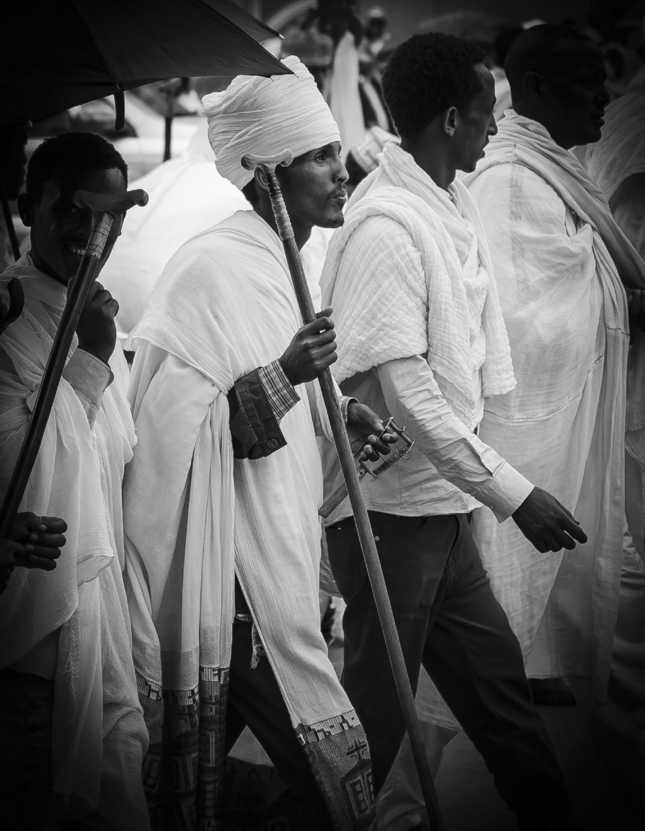 Ethiopian Priest by Liyat G Haile Photography
