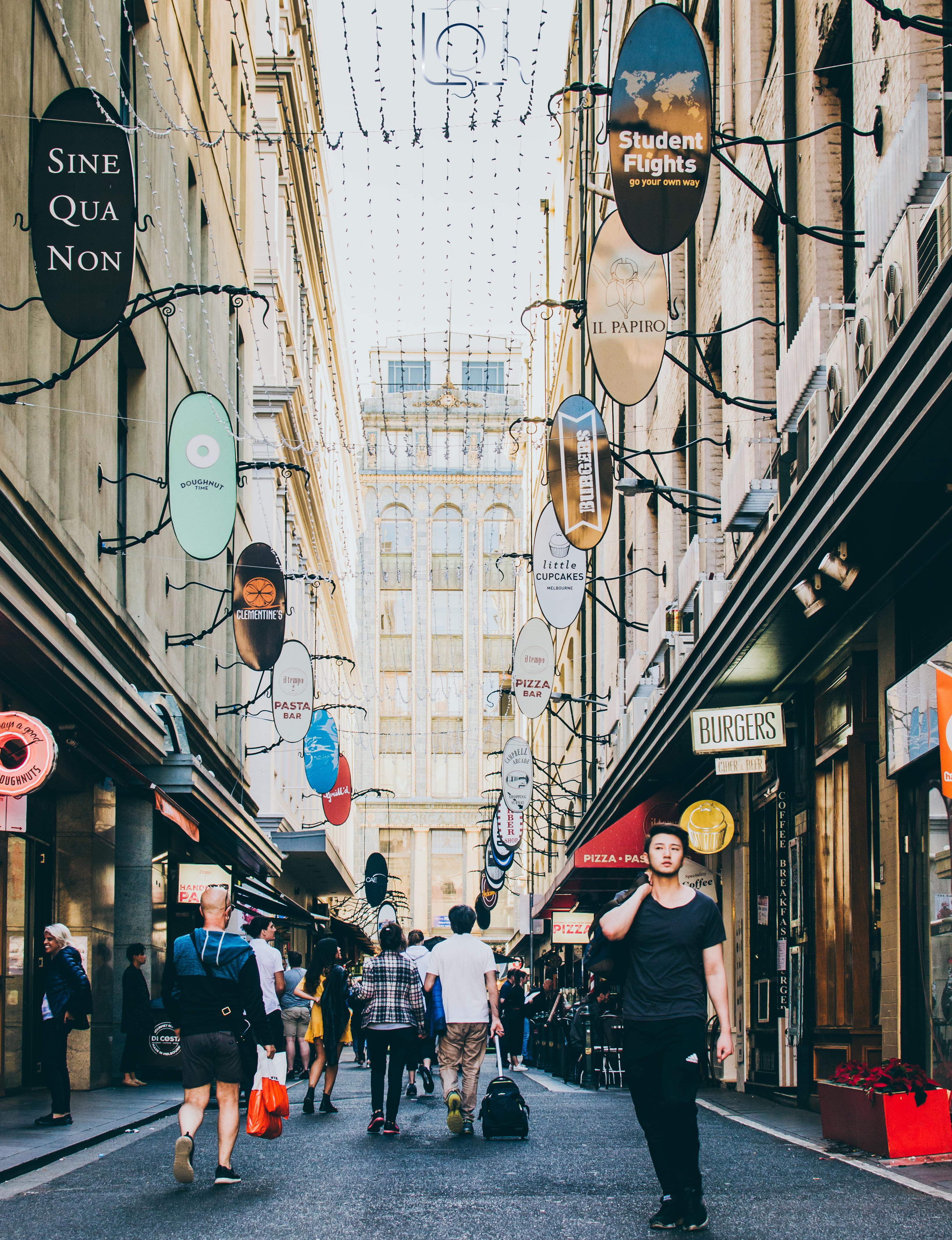 Melbourne City Laneway Street Photography