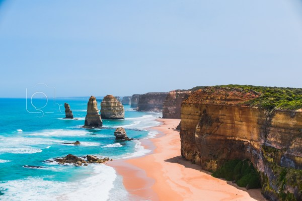 Twelve Apostles by Day on the Great Ocean Road in Victoria